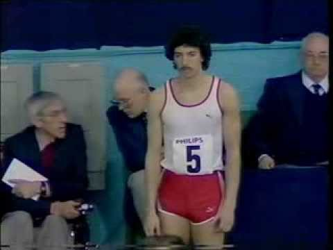 David Abrahams High Jump 12th March 1983