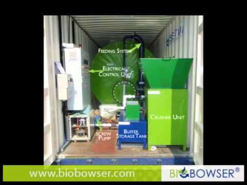 The BioBowser - treats small organic waste streams, produces energy & fertilizer!.