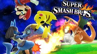 SUPER SMASH BROS POKEMON ONLY CHALLENGE