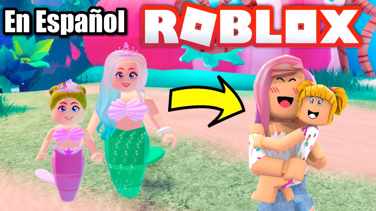 Goldie se Pierde en Roblox! Sirenas Roleplay con Titi Juegos