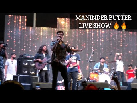 MANINDER BUTTER LIVE 🔥🔥 Performance DAULT RAM COLLEGE,  Delhi University