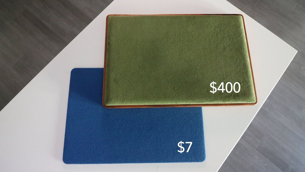 $4 Card Mat vs. $4 Card Mat