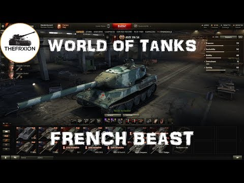world of Tanks || French tanks with Armor! || Amx M4 54 Preview