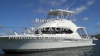 Riviera 40 Flybridge Boat For Sale - R Marine Perth