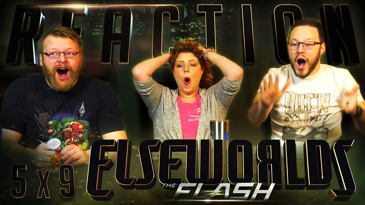 The Flash 5x9 REACTION!!