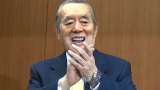 2015年4月18日 東京•港区 国際文化会館 末期ガンで「余命は2015年末ま...