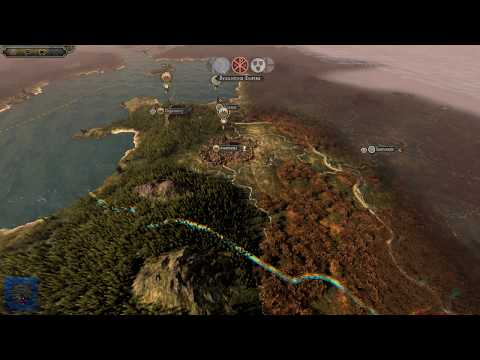 KING ANARAUT! Total War Attila: Age of Vikings: Wales Kingdom of Gwined Campaign Gameplay #1