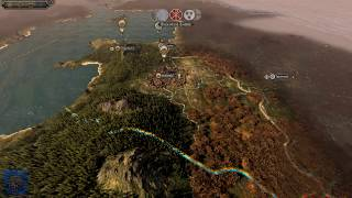 THRONES OF BRITANNIA Total War Attila Age of Vikings Wales Kingdom of Gwined C aign Gameplay 1