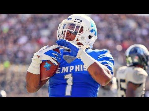 Memphis WR Tony Pollard 2018 Highlights ᴴᴰ