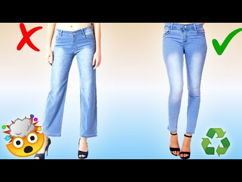 5 CRAZY GENIUS IDEAS FOR JEANS / CLOTHING TRICKS HACKS TO KEEP YOU LOOK FLY FOR GIRLS YOU MUST KNOW