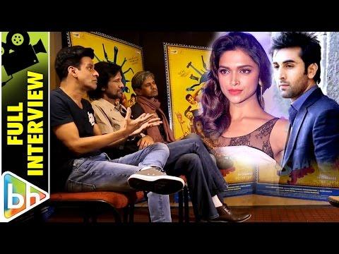 Manoj Bajpayee | Kay Kay Menon | Vijay Raaz | Full Interview | Rapid Fire | Ranbir | Deepika