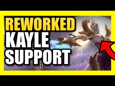 *NEW* KAYLE GAMEPLAY! | FULL GAMEPLAY WITH THE REWORKED KAYLE! | Kayle Support PBE Season 9