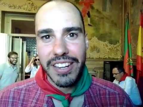 Entrevista Antonio Pampliega antes del pregón