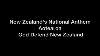 New Zealand's National Anthem with Lyrics thumbnail