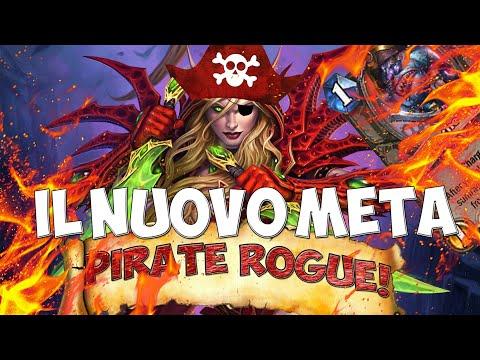 IL NUOVO META: PIRATE ROGUE!!! [HEARTHSTONE ITA]