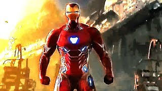 AVENGERS INFINITY WAR Iron Man New Suit Tv Spot Trailer