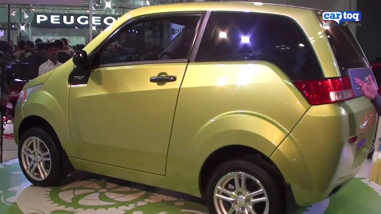 Mahindra Reva NXR video review from Auto Expo 2012 by CarToq.com ...