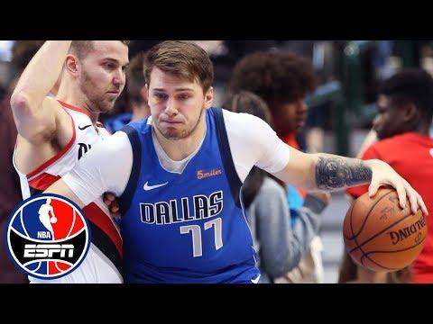 Luka Doncic leads the way as Mavericks top Trail Blazers | NBA on ESPN
