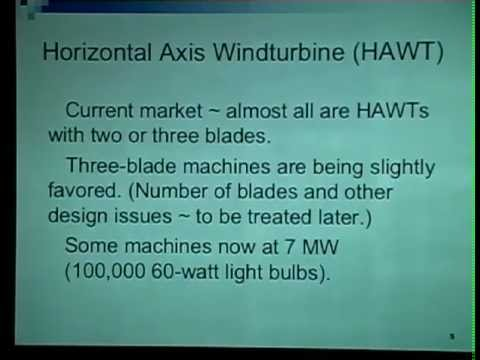 Blowin' in the Wind? A Wind Energy Systems Overview