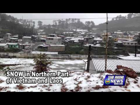 SUAB HMONG NEWS:  Snow falls in Northern Part of Laos and Vietnam