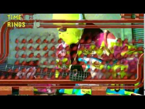 """MonoNeon: Sonic The Hedgehog - """"Spring Yard Zone"""" (Masato Nakamura)"""