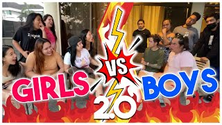BOYS VS GIRLS PART 2