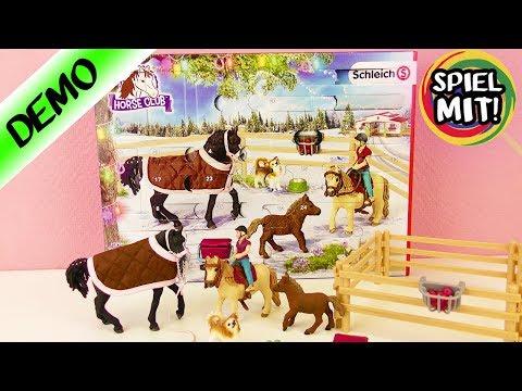 Pferde Pferdehof Reiterhof Adventskalender Horse Club 2019 Schleich 97875