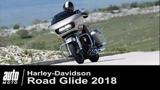 Harley-Davidson Road Glide 107 ESSAI Auto-Moto.com