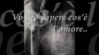 "Mariah Carey- I Want to Know What Love Is! - ""Voglio sapere cos"