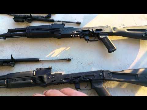 Arsenal SGL vs SLR Russian Vs Bulgarian AK-47 Review Comparison