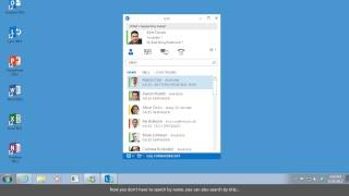 Add and Find Contacts In Lync 2013