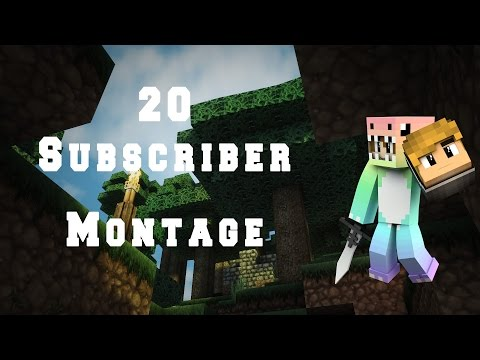 20 Subscriber Montage