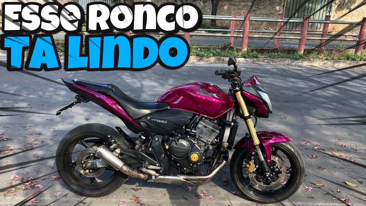 ANDANDO COM A PONTEIRA DE S1000RR COM A HORNET RONCO LINDO DEMAIS!