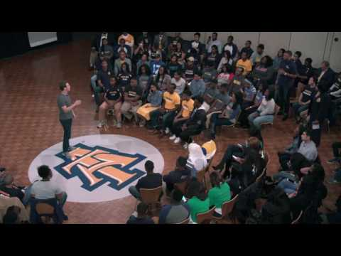 Mark Zuckerberg at North Carolina A&T State University Talk about Building Community.