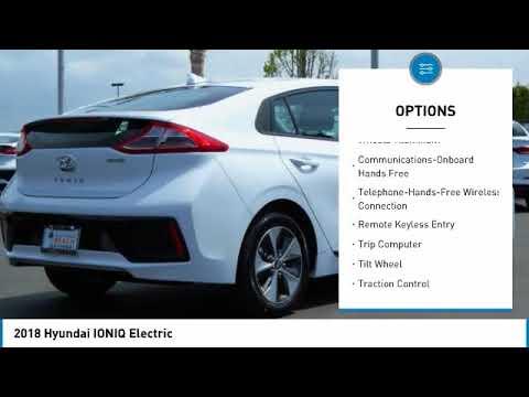 2018 Hyundai IONIQ Electric Huntington Beach CA 18B27434