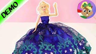 Barbie új ruhát kap / Gyönyörű báli ruha csipkével / Barbie Divat