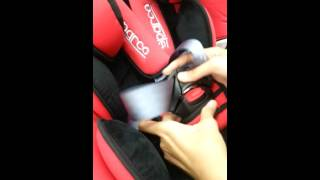 Sparco f500k carseat