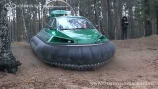 new Russian Hovercraft Christy 6183 (22.11.2013)  Судно на воздушной подушке Chrity 6183