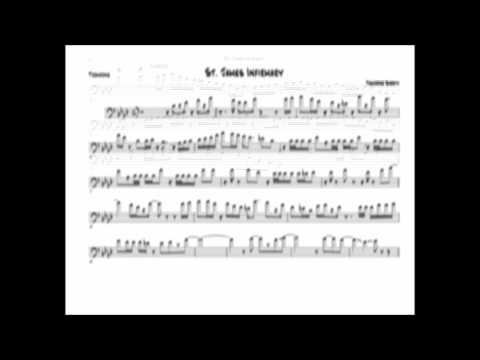 Trombone Shorty - St. James Infirmary Trombone Solo Transcription