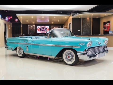 1958 Chevrolet Impala For Sale Youtube