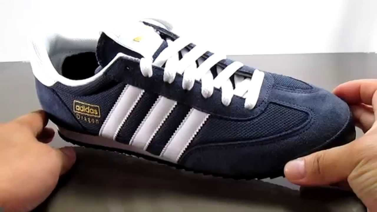 adidas dragon navy blue