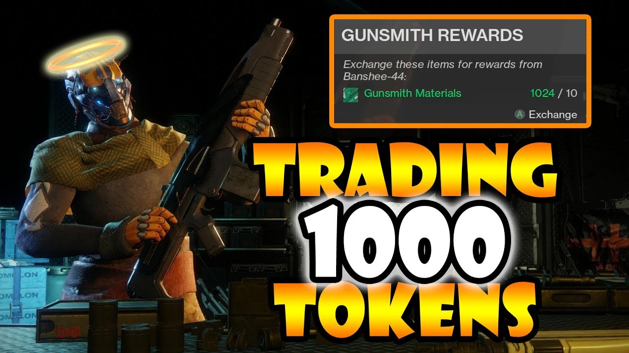 how to get gunsmith rank 1 destiny