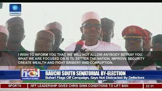 Buhari Flags Off Bauchi South Senatorial By Election Campaign