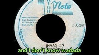 Jackie Edwards - Invasion (Wadada)