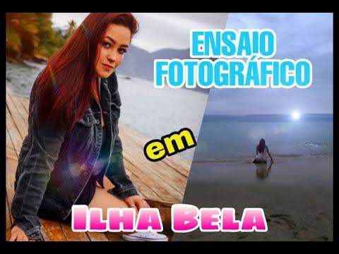 VLOG MEU PRIMEIRO ENSAIO FOTOGRÁFICO EM ILHA BELA