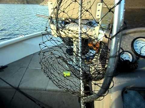 Bass fishing lake mcclure youtube for Lake mcclure fishing report