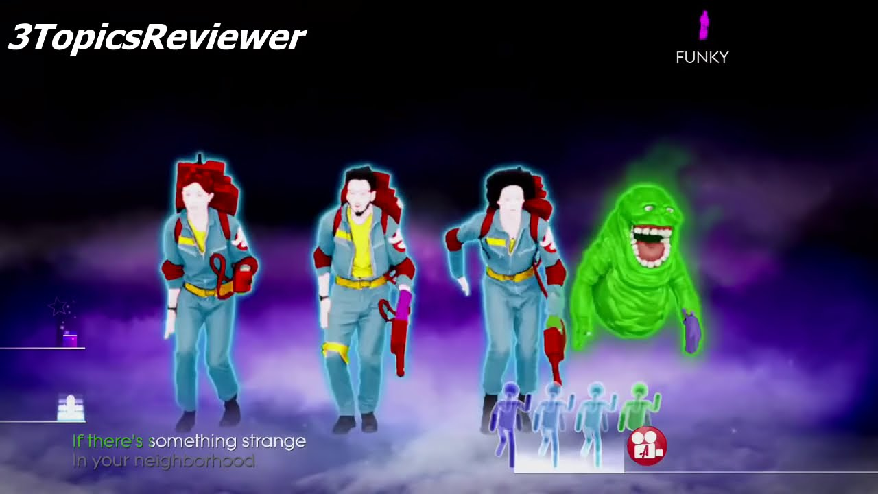 ghost busters just dance
