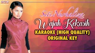 Siti Nurhaliza - Wajah Kekasih (OST Bidadari Kiriman Tuhan) - KARAOKE (High Quality)