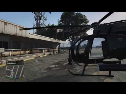 Gta 5 Cheat On Story Mode How To Spawn A Buzzard PS4/Xbox One
