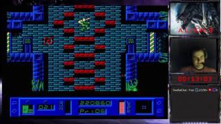 Alien 3 прохождение 100%   Игра на (Dendy, Nes, Famicom, 8 bit) 1992. Live cтрим HD [RUS] Hard